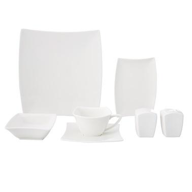 Karaca Perfect Beyaz 32 Parça Kahvaltı Seti Beyaz